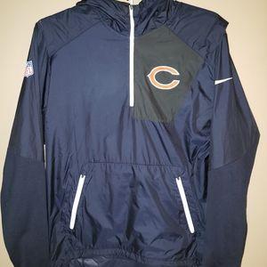 Nike Chicago Bears Vapor Speed Fly Rush Jacket, M